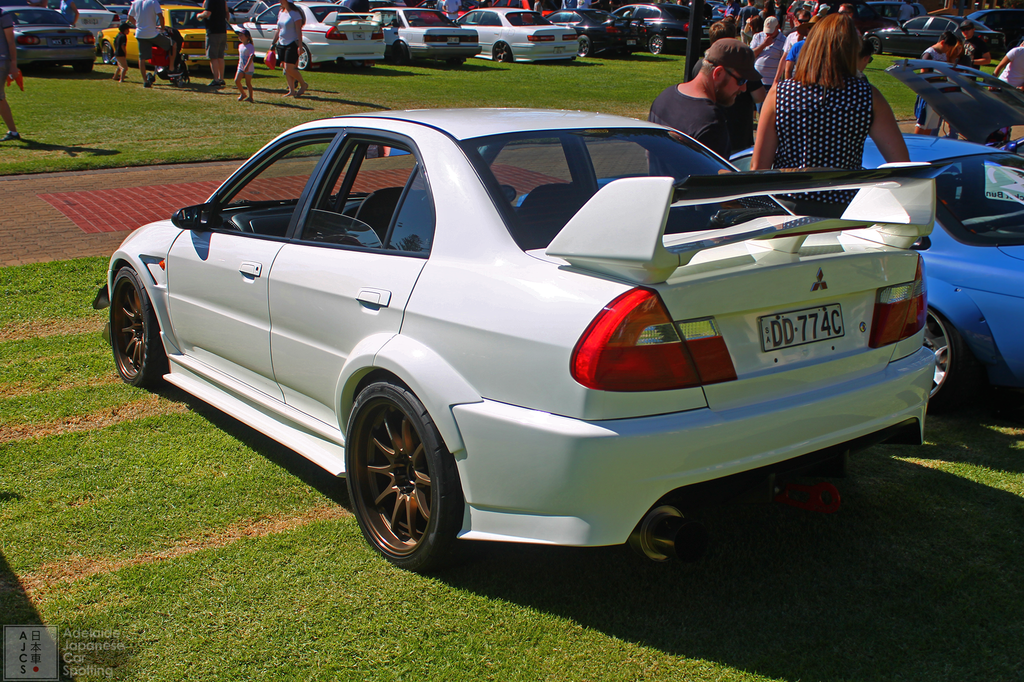 Mitsubishi Evolution 6 - Adelaide Japanese Car Spotting