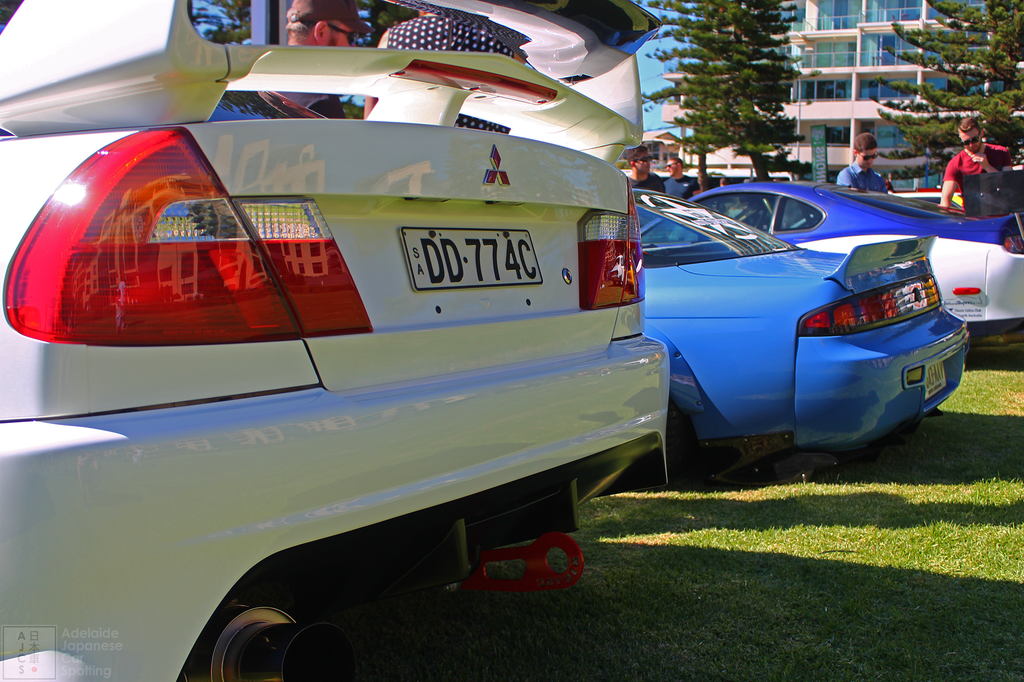 Mitsubishi Evolution 6 and Rocket Bunny 240SX - Adelaide Japanese Car Spotting