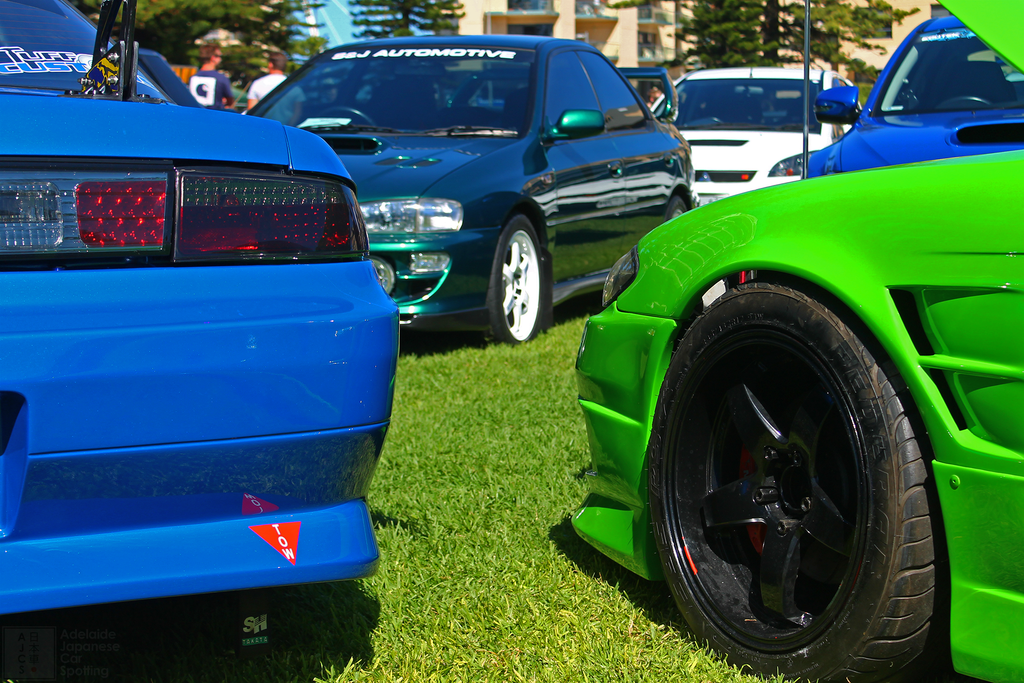 Nissan Silvia Drift Cars - Adelaide Japanese Car Spotting