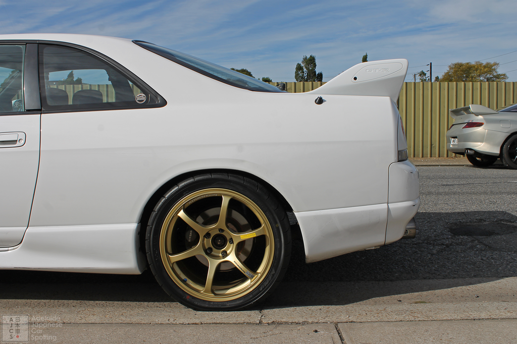 Nissan Skyline R33 GTR - Adelaide Japanese Car Spotting