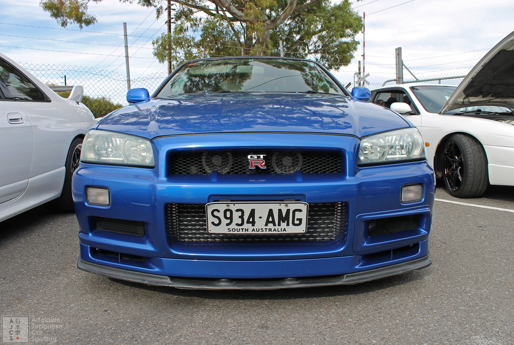 Nissan Skyline R34 GTR - Adelaide Japanese Car Spotting