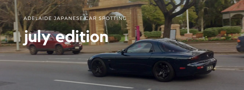 July Edition Spots Header Pic - Adelaide Japanese Car Spotting