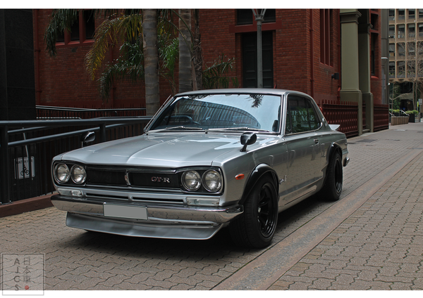Hakosuka - Pure Japanese Muscle (A2 SIZE) LIMITED EDITION PRINT
