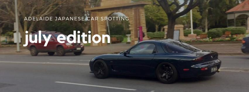 Adelaide Japanese Car Spots - JULY 2017