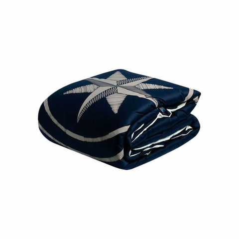 FREE STYLE Single Duvet Navy - Boating Chic