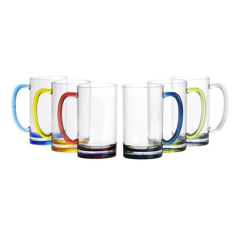 REGATA  BEER MUG COLORED BASE - Boating Chic