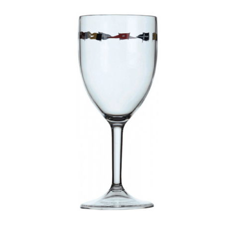 REGATA Wine Glass Set of 6 - Boating Chic