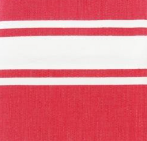 RED Fine Cotton Fouta - Boating Chic