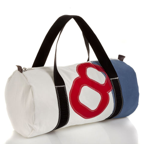 727 Travel Bag Onshore Navy/Red - Boating Chic