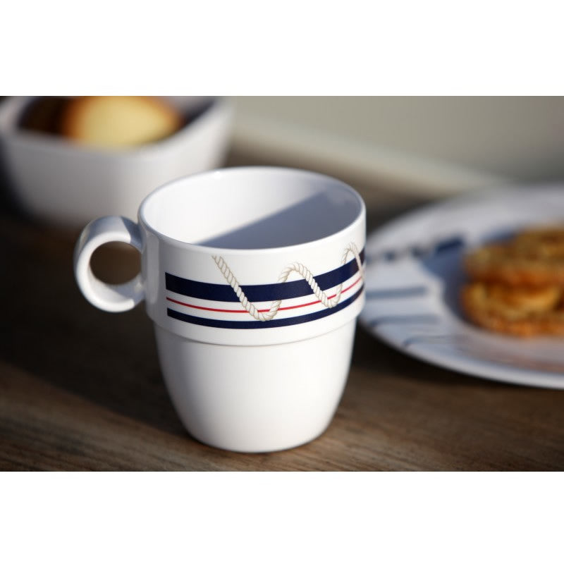 CANNES BY SEA MUG Set of 6 - Boating Chic