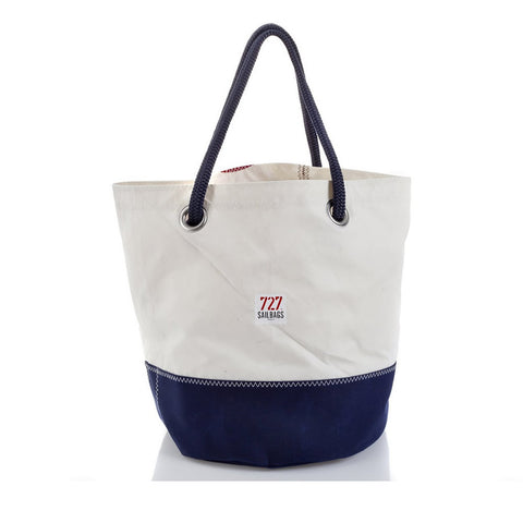 727 Tote Bag Big Main Sail - Boating Chic