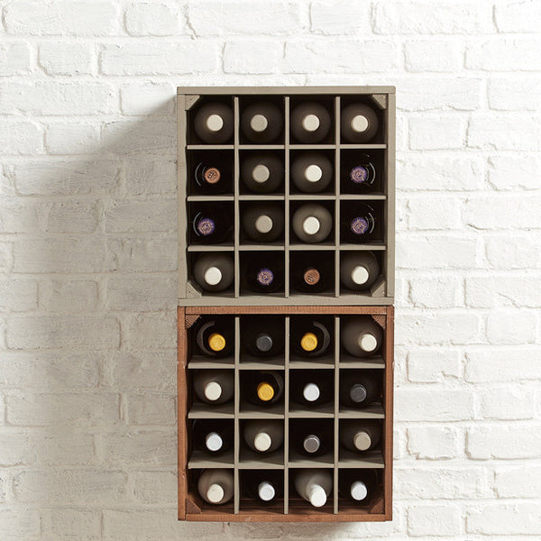 Wine crates. Grainandgray country wine crates
