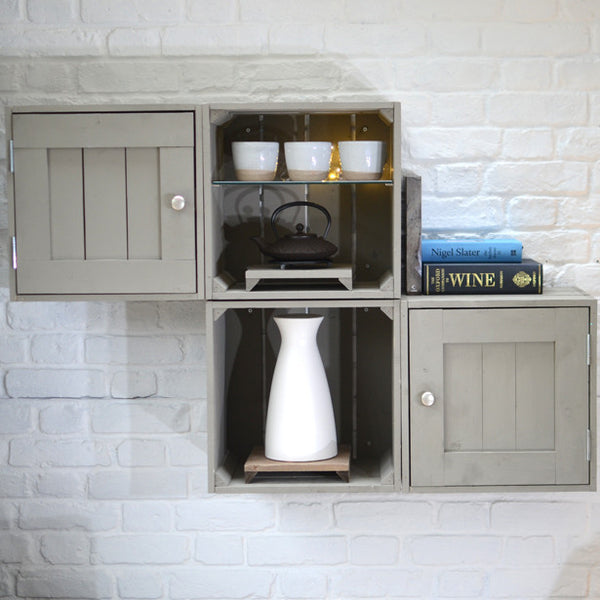 Kitchen wall crates
