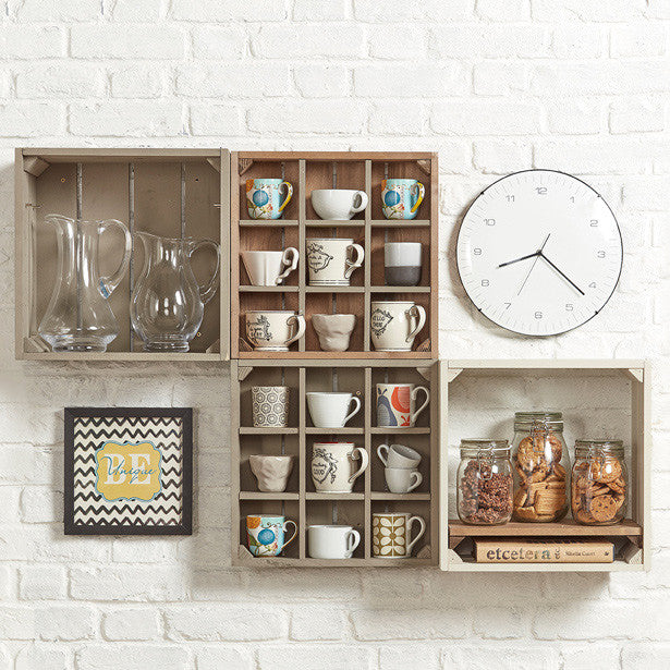 Kitchen mug rack