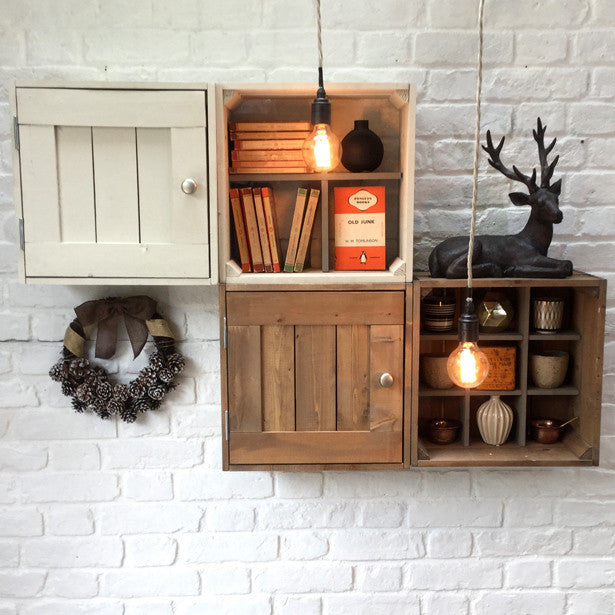 Wall mounted collectors cabinet