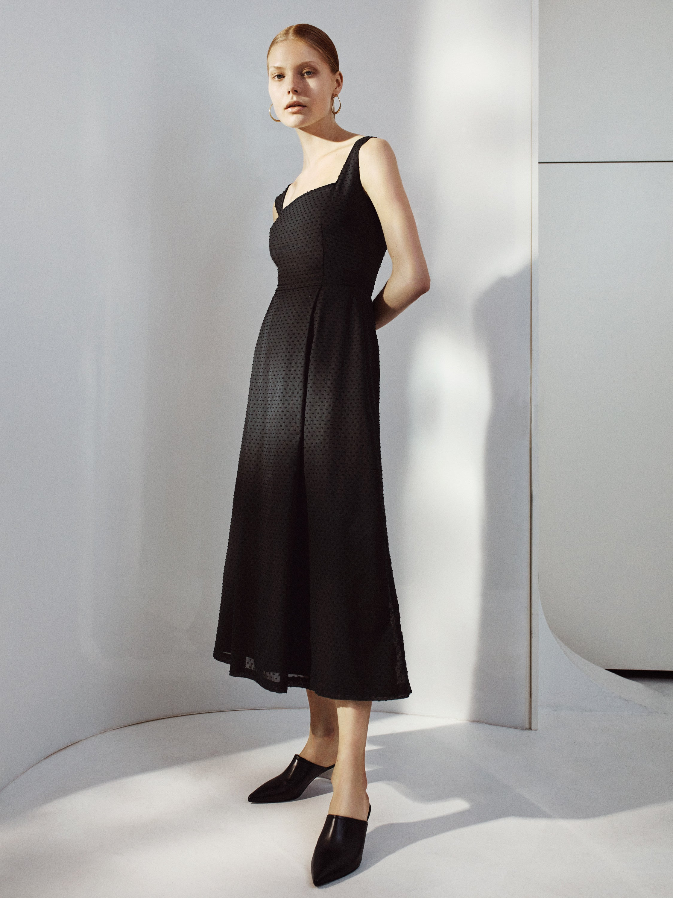 Isabelle Fox Sophia Dress Black