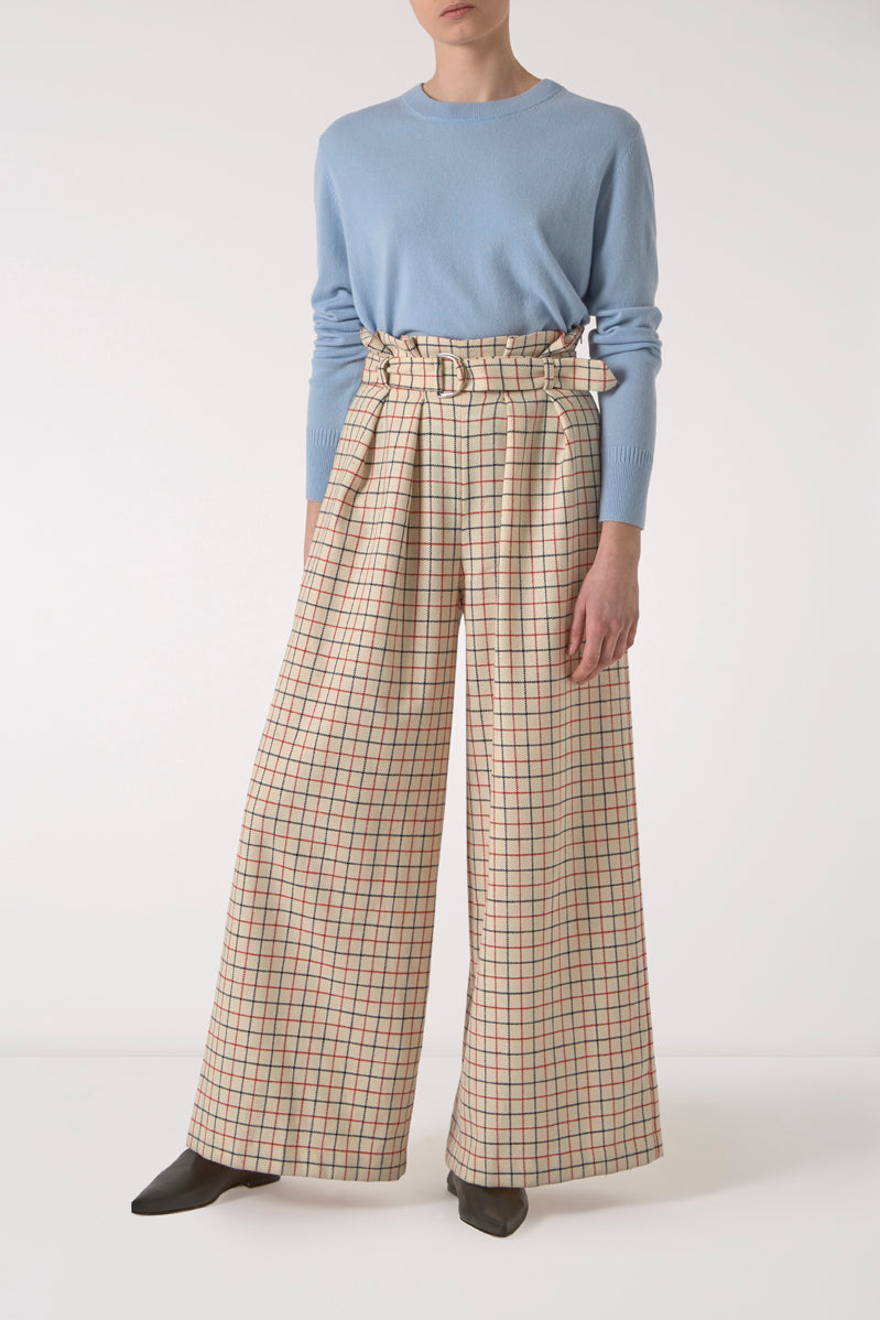 Edith Wide Leg Trousers