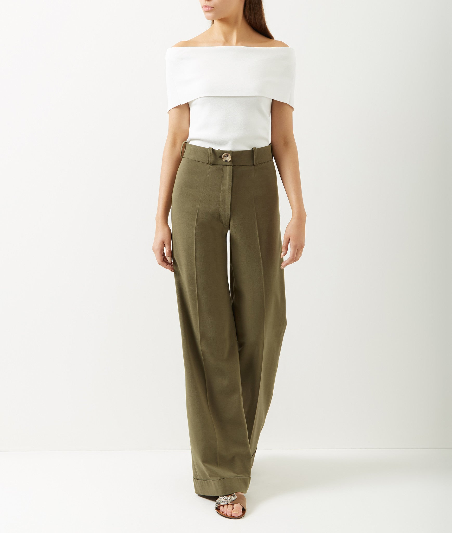 Rita Wide-Leg Trousers