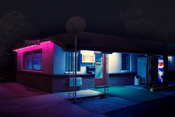Blues at the Pink Motel