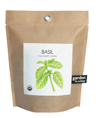 Potting Shed Creations - Basil Garden in a Bag Grow Kit