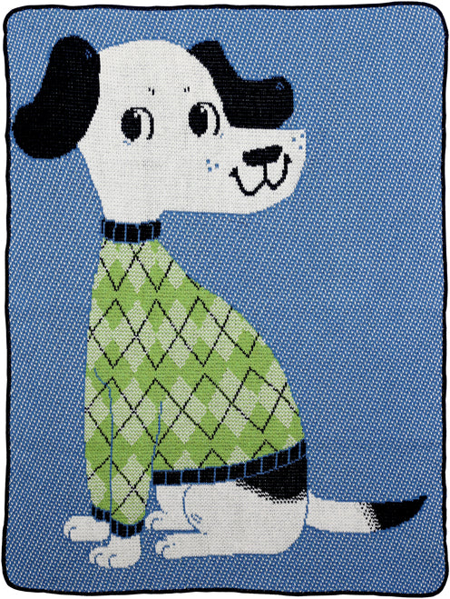 Junior Throw - Sweater Dog