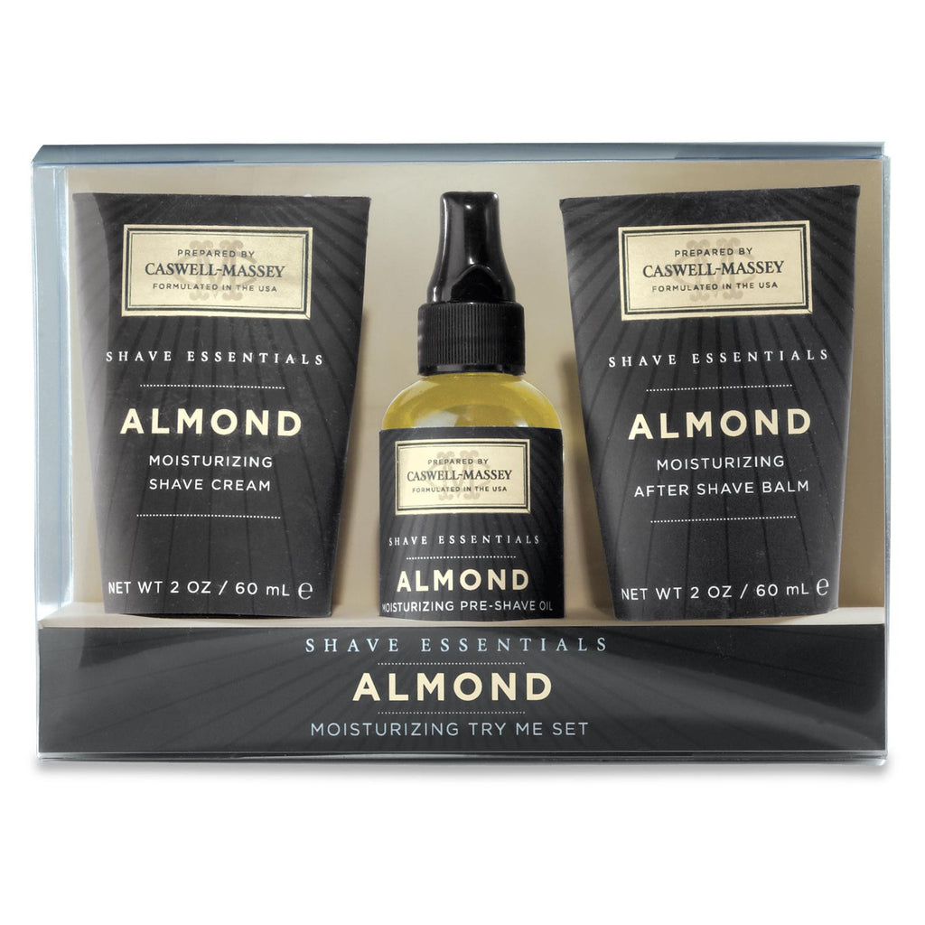 Almond Try Me Set Shaving Products