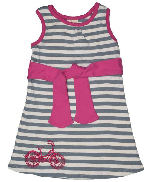 Bicycle Tie Dress - 3T