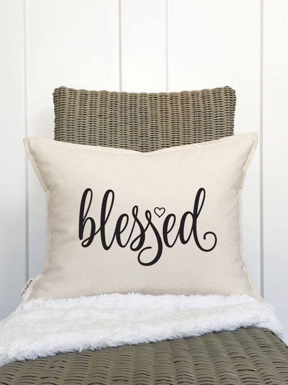 "Blessed Pillow - 15"" X 19"""