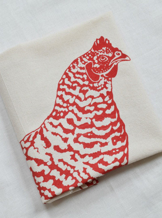 Tea Towel - Chicken