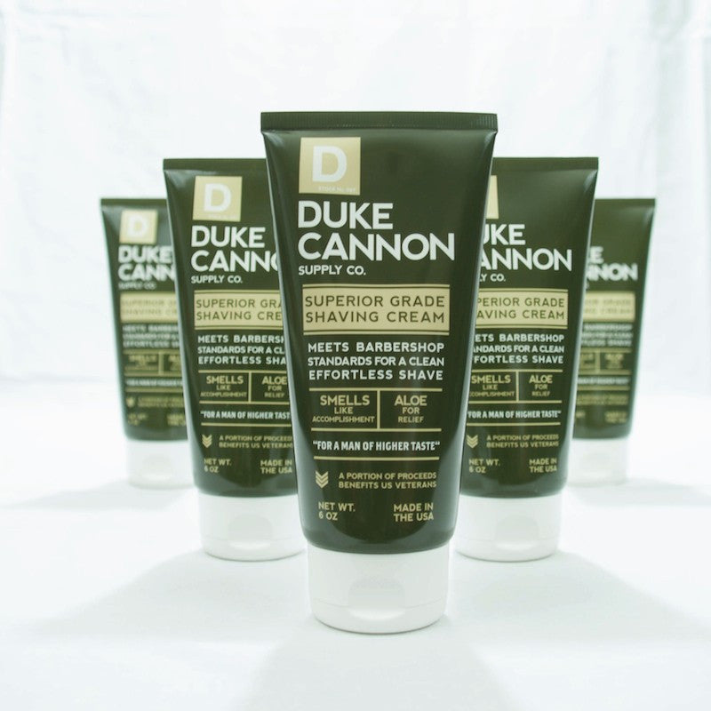 Duke Cannon's Superior Grade Shaving Cream
