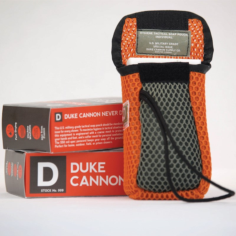 Duke Cannon - Tactical Soap On A Rope Pouch