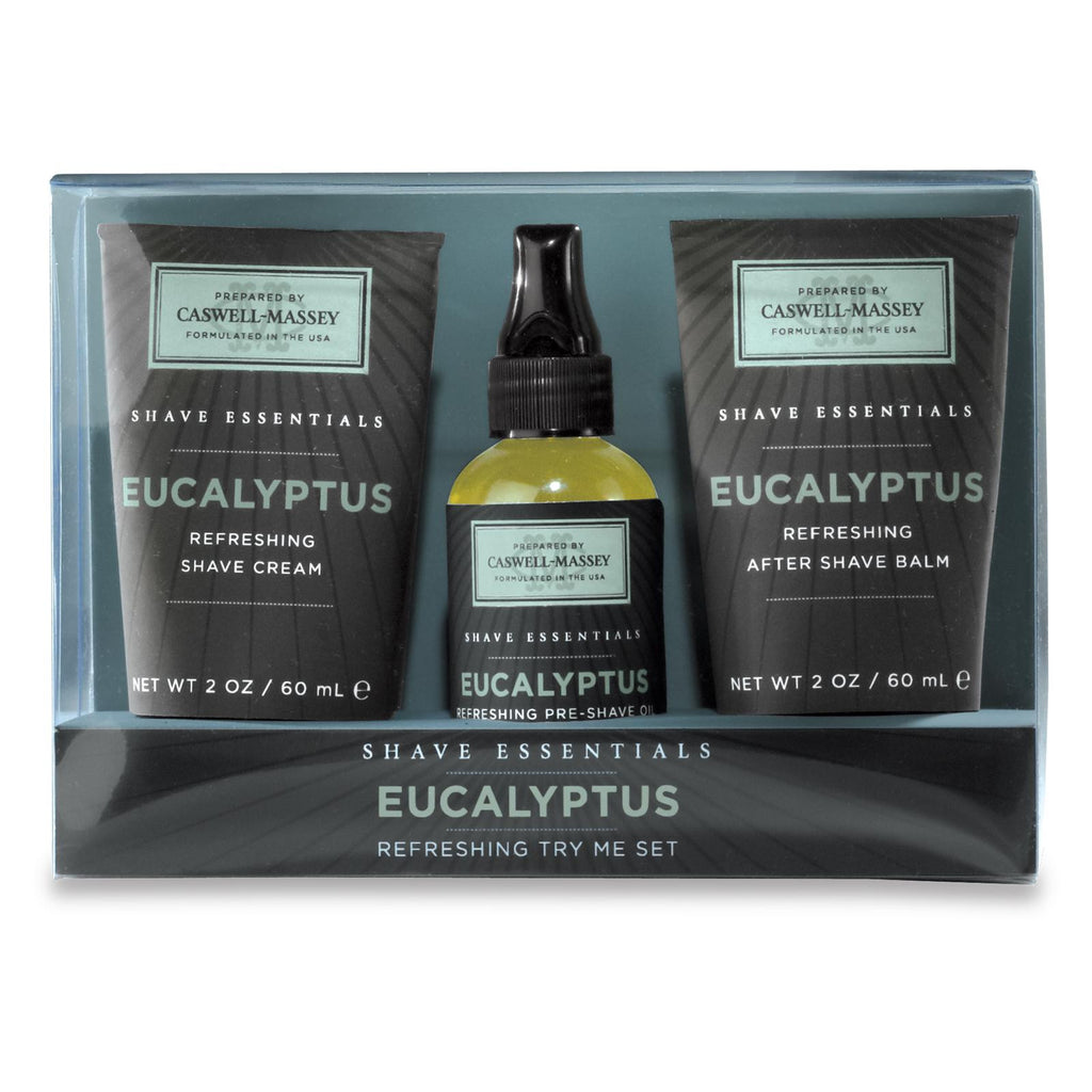 Eucalyptus Try Me Set Men's Shaving Kit