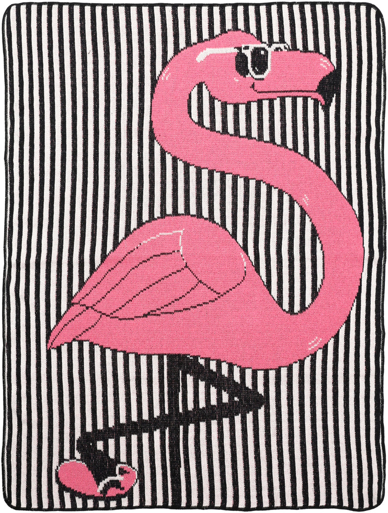 Junior Throw - Flamingo