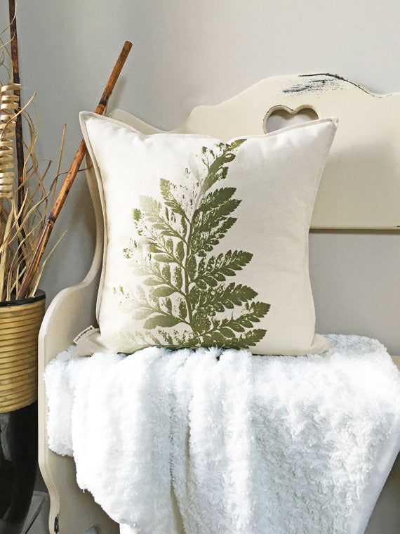 Fern Pillow - 18""