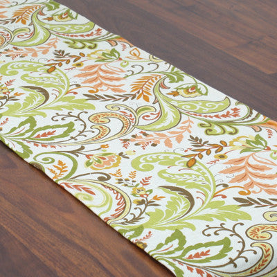 "Findlay Apricot Hemmed Runner - 12.5"" x 54"""