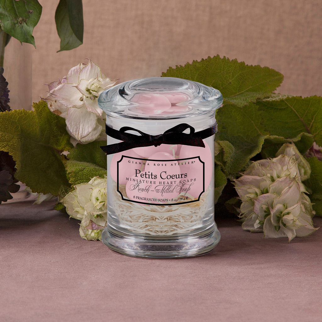 Petits Coeurs in Apothecary Jar