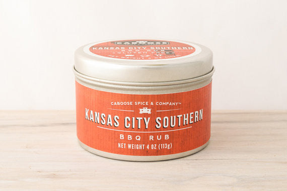 Kansas City Southern BBQ Rub - 4 oz