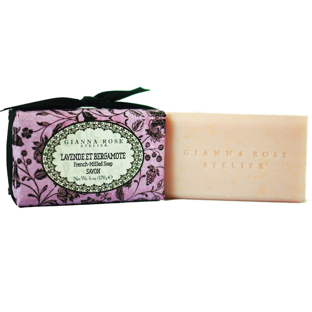 Gianna Rose Lavender & Bergamot Bar Soap - 6 oz