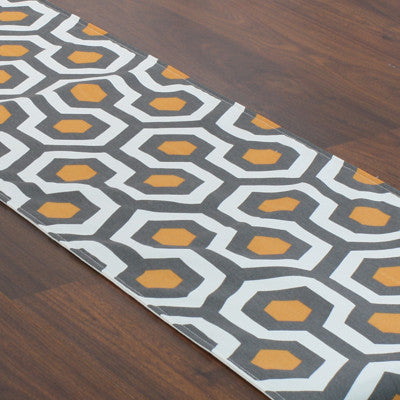 "Cotton Table Runner - 12.5"" x 72"""