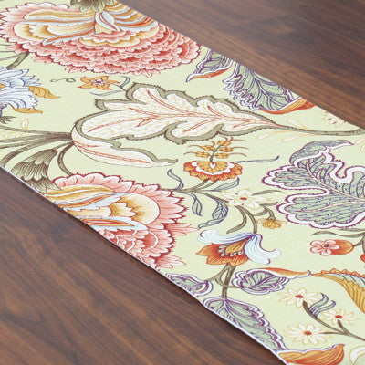 "Meadowlark Clay Hemmed Runner - 12.5"" X 54"""