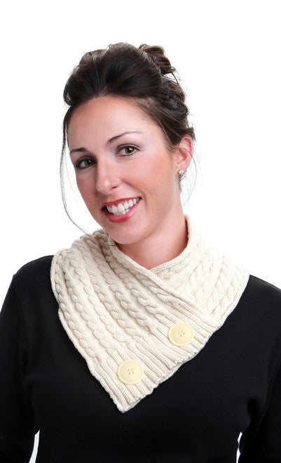 Neck Warmer - Cotton Cable