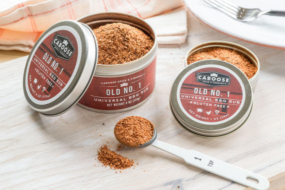 Old No. 1 Universal BBQ Rub - 4 oz