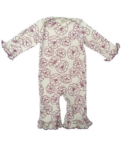 Organic Cotton Girls Romper