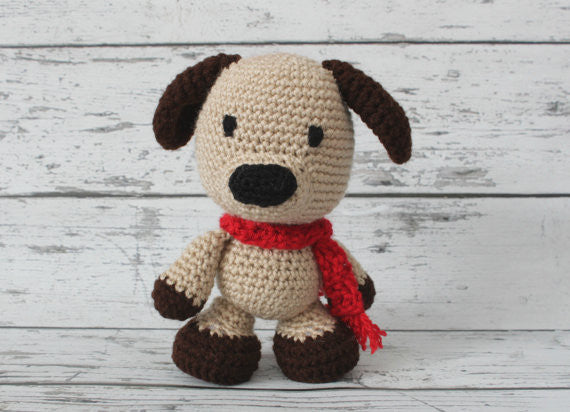 Crochet Puppy - Petey