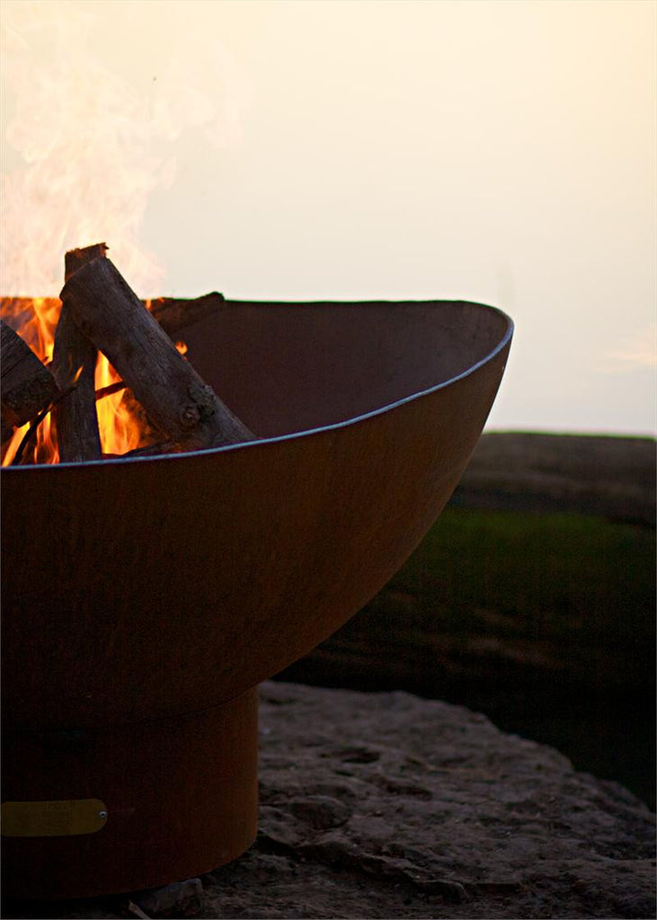 """Scallops"" Fire Pit - 36"""