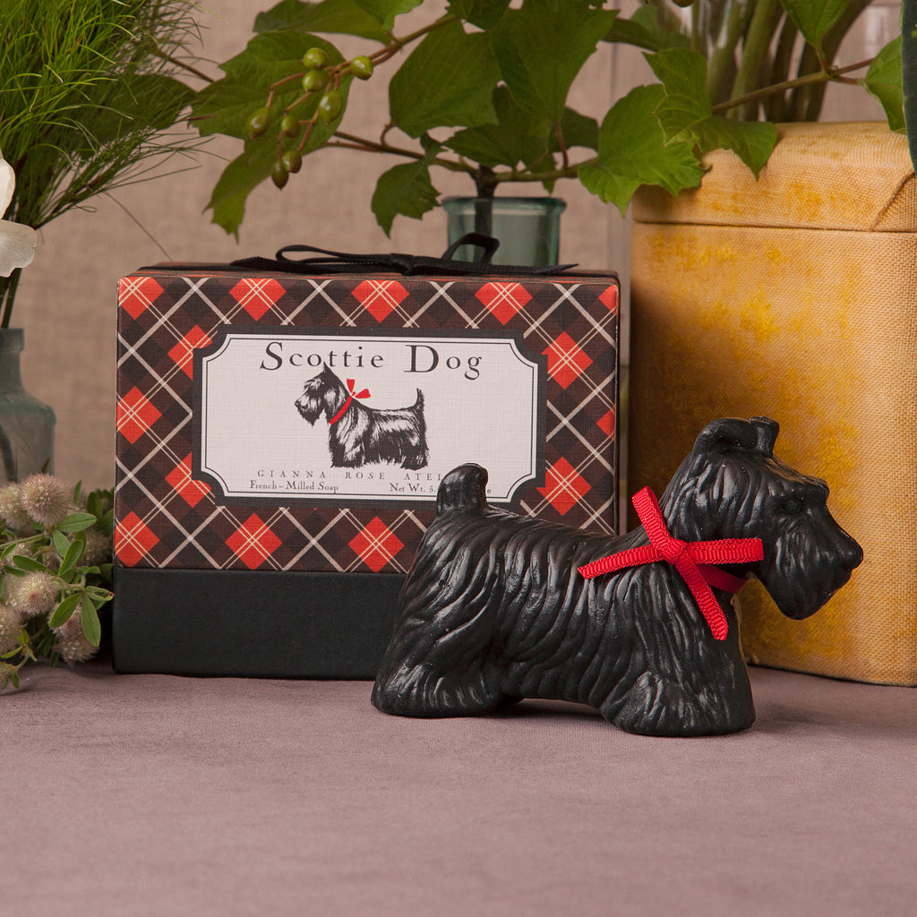 Scottie Dog Soap