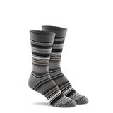Serape Charcoal Crew Socks