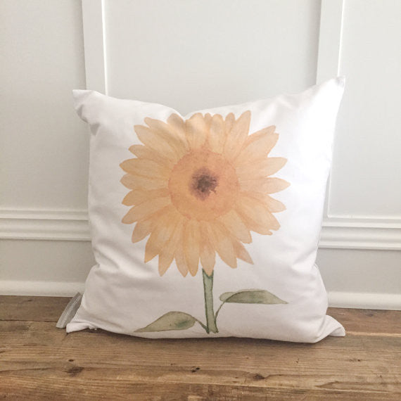 Sunflower Pillow - 18""