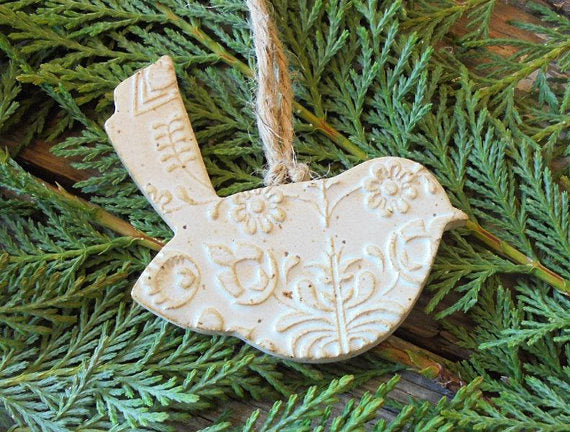 Partridge Christmas Ornament