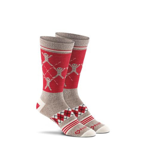 Monkey Argyle Socks